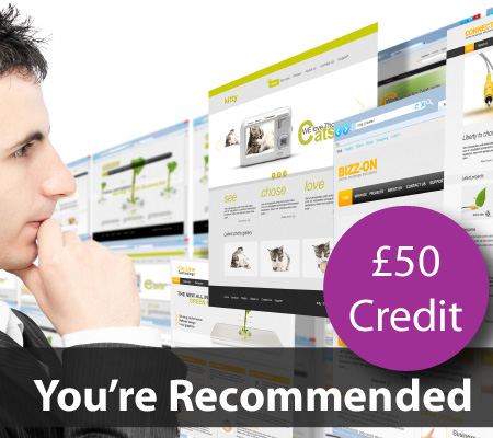 £50 credit for new client referrals