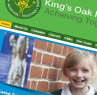Kings Oak School - New Malden web design