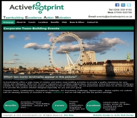 Activefootprint Website Screenshot