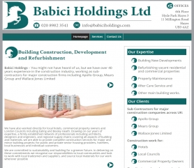 Babici Website Screenshot