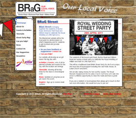 BRaG Website Screenshot