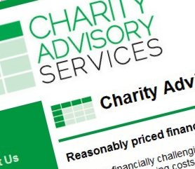 Charity Advisory Services Website Screenshot