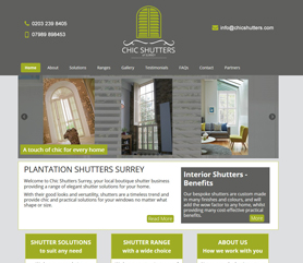 Chic Plantation Shutters Surrey