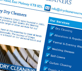 Image Dry Cleaners Surrey