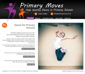 Primary Moves Website Screenshot