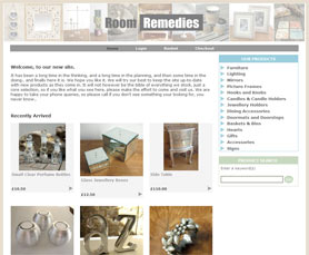 Room Remedies Website screenshot