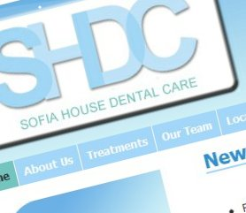 Sofia Dental Website Screenshot